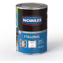Emalia alkidowa Ftalonal Brązowy półpołysk 5L Nobiles