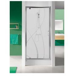 SANPLAST drzwi Tx 5 100 otwierane, szkło CR DJ/TX5b-100 600-271-1060-38-371