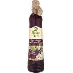 NATUR FARM 700ml Syrop owocowy z sokiem wiśniowym aż 33% soku