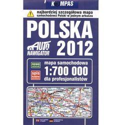 Polska Mapa samochodowa dla profesjonalistów (opr. broszurowa)