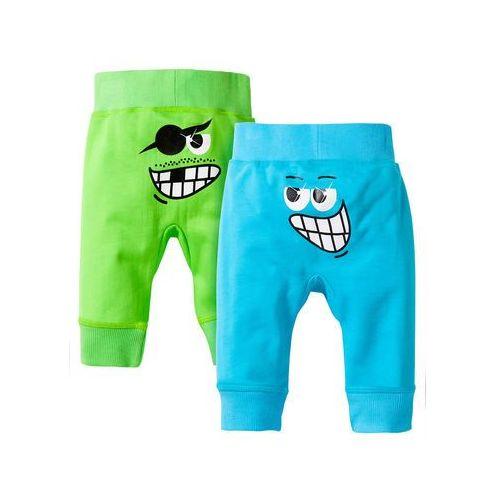 Spodnie dresowe niemowlęce (2 pary), bawełna organiczna