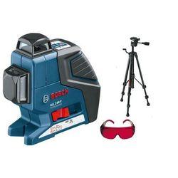 Laser płaszczyznowy Bosch GLL 2-80 P + statyw BT 150 + okulary