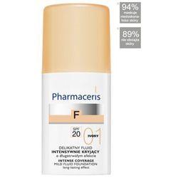 PHARMACERIS F delikatny fluid intensywnie kryjący SPF20 IVORY 01 30ml