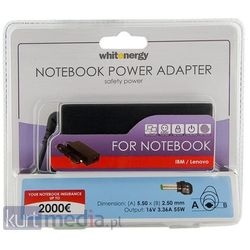Zasilacz WHITENERGY Zasilacz sieciowy do notebooka IBM 55W