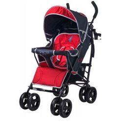 Caretero SPACER DELUXE wózek dziecięcy spacerówka czerwony red