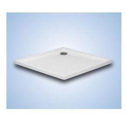 Brodzik kwadratowy Hüppe Xerano 80 x 80 x 6 cm, biały, bez obudowy 840301055