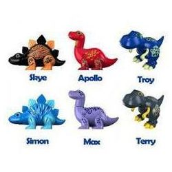 DigiDinos dinozaury, różne wzory DUMEL