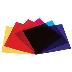 Folia/Filtr kolorowy Eurolite, 24 x 24 cm, PAR 64, PAR 36, PAR 56, zestaw 4 szt.