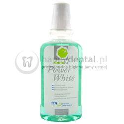 GreenIce Power White płyn 300ml - płyn do płukania jamy ustnej przywracający naturalną biel zębów