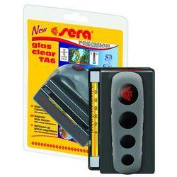 SERA Glass Clear – czyścik magnetyczny z termometrem analogowym 6mm