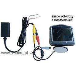 Bezprzewodowa kamera cofania z monitorem LCD 3,5
