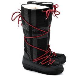 NAPAPIJRI Bella - Czarne Nylonowe Śniegowce Damskie - 09797225 N00
