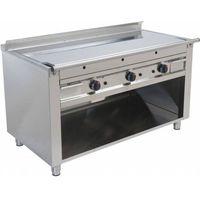 Gazowy grill Teppanyaki | 3 x 5,8kW | 1600x720x850mm