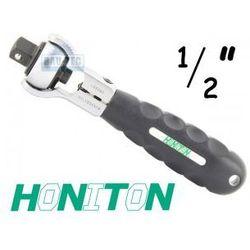 Grzechotka obrotowa na bity i kwadrat 1/2' HONITON