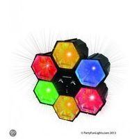 Kolorofon Sterowany Muzyką Reflektor LED Efekt RGB