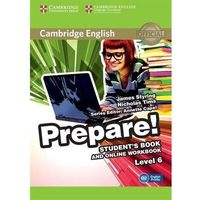 Cambridge English Prepare! Level 6 Student's Book and Online Workbook (opr. miękka)