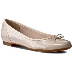 Baleriny CLARKS - Couture Bloom 261175884 Nude Pink
