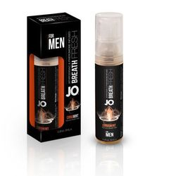 Odświeżacz do ust z afrodyzjakiem - System JO PHR Breath Fresh Men Cinnamint 3.5 ml Cynamon i mięta, dla mężczyzn