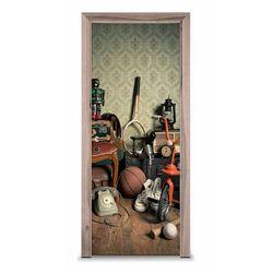 Naklejka na drzwi - Pokój z dzieciństwa 7613