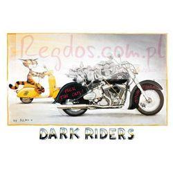 Harley Davidson - Dark Riders - zabawny plakat