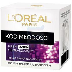 Loreal Paris Kod Młodości Odmładzający przeciwzmarszczkowy krem do twarzy na dzień 50 ml