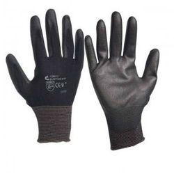 Rękawice robocze powlekane Bunting czarne