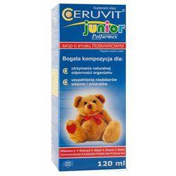 Ceruvit Junior sm.truskawkowy syrop - 120 ml