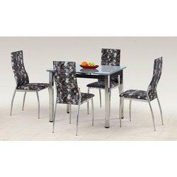 Stół z blatem szklanym HALMAR LOGAN, Kolory