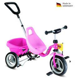 Dziecięca czerwona rowerek trójkołowy Carry Touring Tipper CAT 1 S pink 2325
