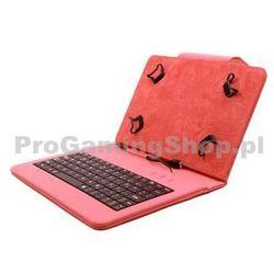FlexGrip Sprawa z klawiaturą dla GoClever Tab R83.2 MINI, czerwony