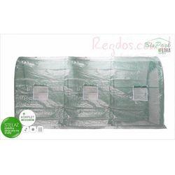 Tunel foliowy ogrodowy 3,5x2x2m szklarnia foliowa 7m2 BioPeak