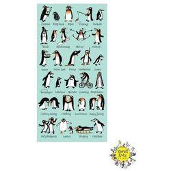 TYRRELL KATZ Ręcznik - Pingwiny, 70 x 140 cm
