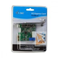 i-tec PCIe Card USB 3.0 SuperSpeed 2xExternal+ 1xInternal 20pin