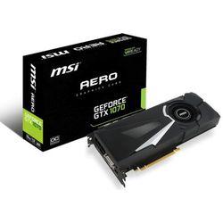 MSI GeForce GTX 1070 AERO OC 8GB GDDR5