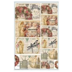 Papier do decoupagu Gabi Sólyom A3 POST CARD ANGEL