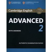 Cambridge English Advanced 2 Student's Book with answers (opr. miękka)