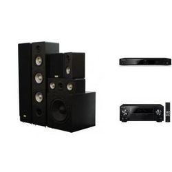 PIONEER VSX-330 + BDP-100 + TAGA TAV-406 + TSW-90 - Kino domowe - Autoryzowany sprzedawca