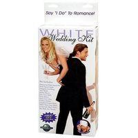 Erotyczny zestaw ślubny idealny na prezent - White Wedding Kit