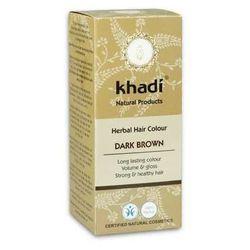 Henna Khadi Ciemny Brąz - ziołowa farba do włosów