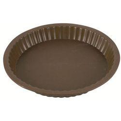 Silikonowa forma do tarty Delice brązowa (śr. 27 cm)