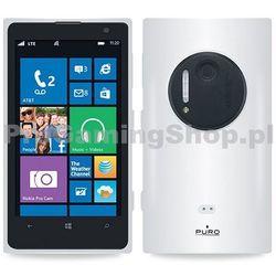 Etui silikonowe PURO Clear do Nokia Lumia 1020, przezroczyste