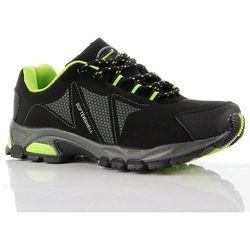 HASBY czarne buty trekkingowe damskie wodoodporne - czarny