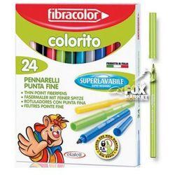 Flamastry pisaki mazaki FIBRACOLOR Colorito 24 kol