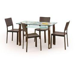 Stół z blatem szklanym HALMAR GOTARD, Kolory
