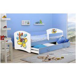 Łóżko parterowe Lucyna 140 x 80 + szuflada