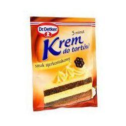 Krem do tortów i ciast smak ajerkoniakowy 120 g Dr. Oetker
