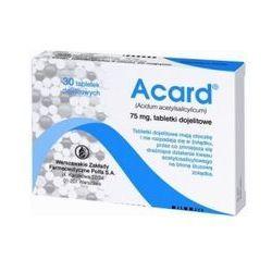 Acard - 30 tabletek 75mg