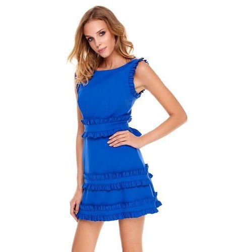 a72f292777 Sukienka Kalmia w kolorze szafirowym - porównaj zanim kupisz