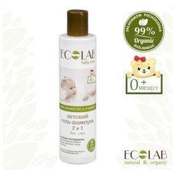 Żel pod prysznic i szampon do włosów dla dzieci 250ml EC LAB
