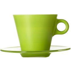 Filiżanka do kawy Cappuccino Ooh Magico Leonardo zielona